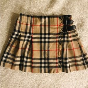 BURBERRY 4t CLASSIC vintage check girls